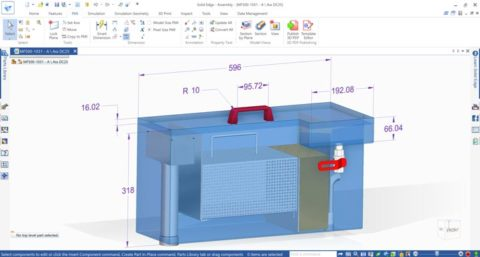 Solid Edge Modellbasierte Definition | PMI Dimensionen